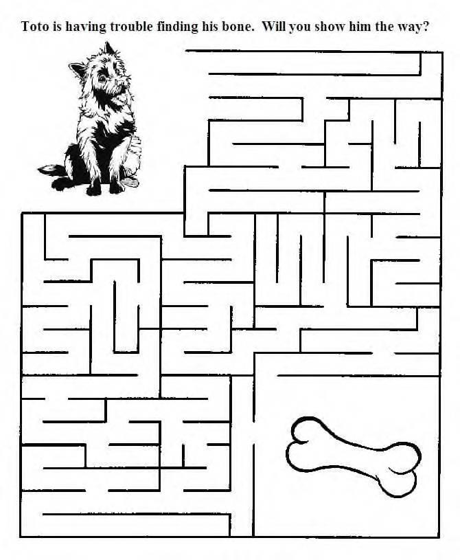 Wizard of Oz Maze